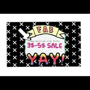 $3-$5!!!!!!!#SALE SALE SALE SALE