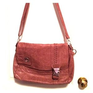 Dusty Pink Satchel Bag