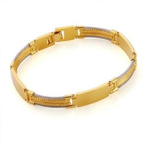 no name Other - NEW GOLD PLATED BRACELET