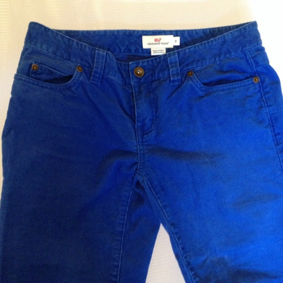 79% off vineyard vines Pants - NWOT Vineyard Vines blue corduroy ...