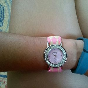 Gorgeous pink watch
