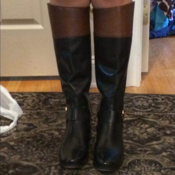 Michael Kors Shoes | Fulton Harness Riding Boots | Poshmark