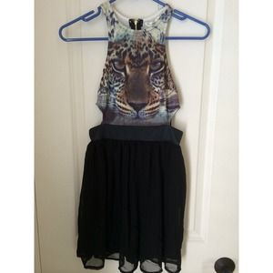 LF dress with tiger image!