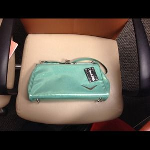 Lux de Ville handbag. Mint green