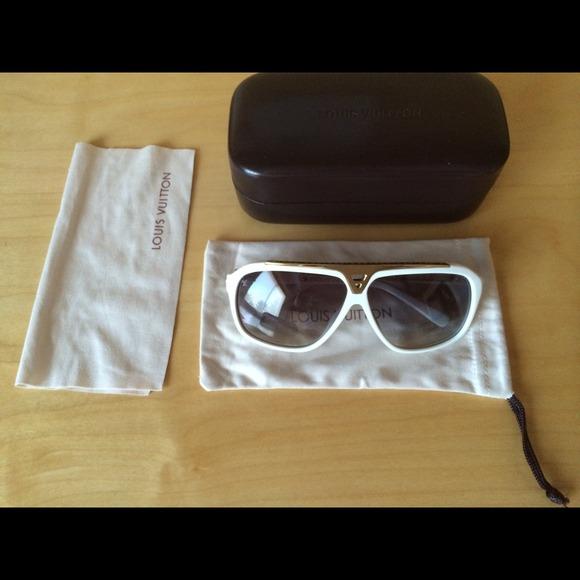 cfd9bfe2f6e White Louis Vuitton Evidence Sunglasses Rare. NWT. Louis Vuitton.  M 53d0115f0fb6cd7ace4b81a6. M 53d0116630052711e745dc95.  M 53d0116e1b865a1d5b473244