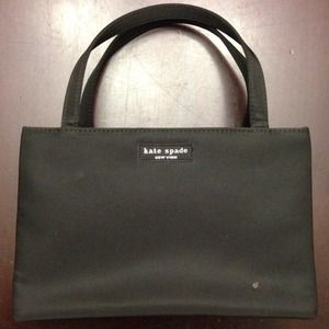 Kate Spade Nylon Sam Shopper Shoulder Bag Tote Black 111