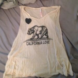 California Love Muscle Tank