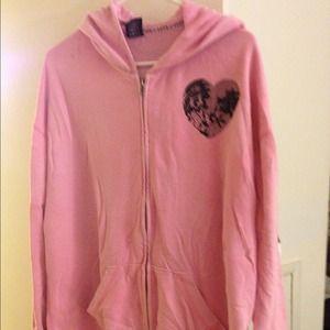 Used medium  Pink VS hoodie