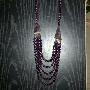 Jewelry - Beautiful purple layered necklace