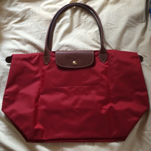 24% off Longchamp Handbags - Longchamp Le Pilage Large Tote in ...