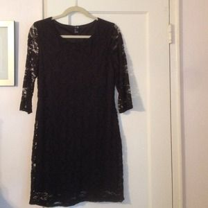 Black Lace Dress! FORVER 21