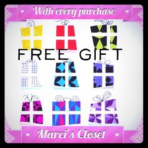 Free gift with all purchase
