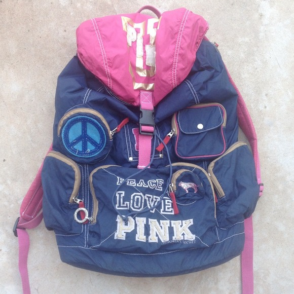 Backpack With Lots of Pockets Pink Lots of Pockets Backpack