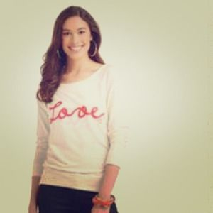 Dream out loud love sweater