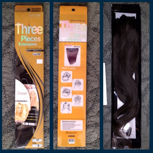46 off lord cliff other 3 piece clip in hair extensions from lord cliff other 3 piece clip in hair extensions pmusecretfo Choice Image