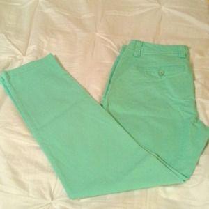 Mint Green Gap Khaki Pants!