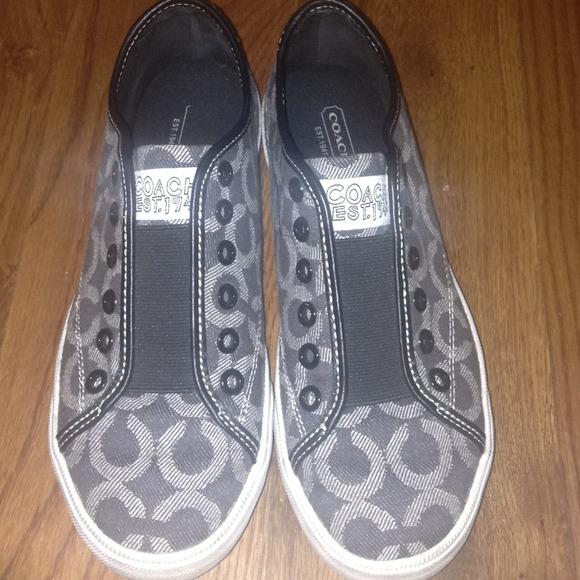 Black Coach Shoes Sneakers | Poshmark