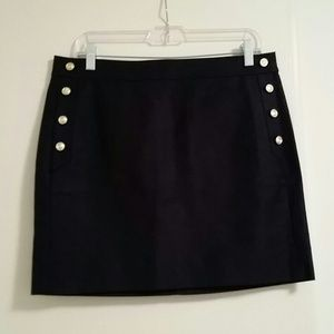 J Crew Postage Stamp Sailor Mini Skirt