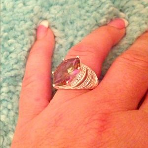 A gorgeous one of a kind sterling ring 
