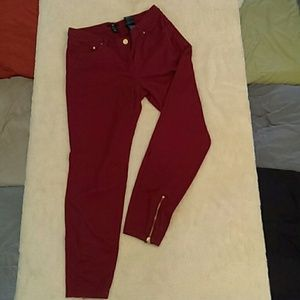 H&M Red Pants