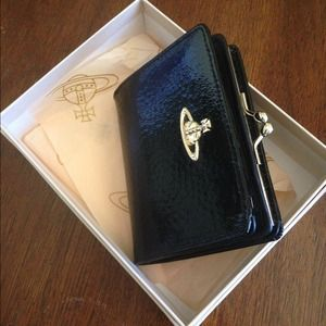 Vivienne Westwood Clutches & Wallets - BRAND NEW Vivienne Westwood Black Patent Wallet