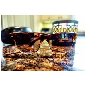"""Accessories - Ray-Ban """"club master"""" inspired sunnies! 😎"""