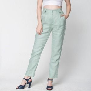 ☀️FLASHSALE☀️ Linen High Waisted Pleated Pants