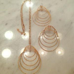Jewelry - ITALINA BY SAVVY CIE Italian Multi Rings Drop