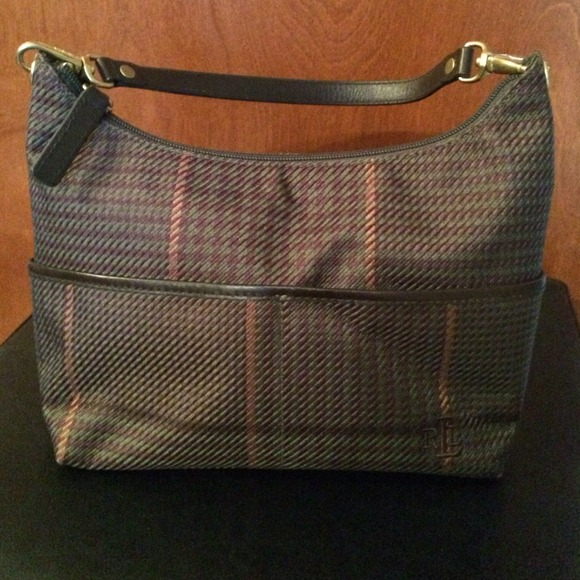 617711de9be3 Ralph Lauren plaid shoulder bag - sale. M 53d2f5cbfe9a2b0540002708