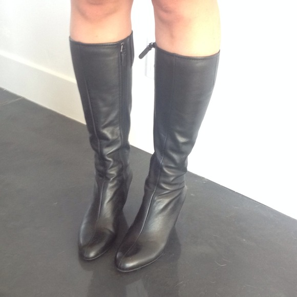83 via spiga shoes via spiga covered wedge boots