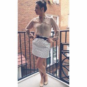 ✖️BUNDLED✖️J. Crew Dot Mini Skirt