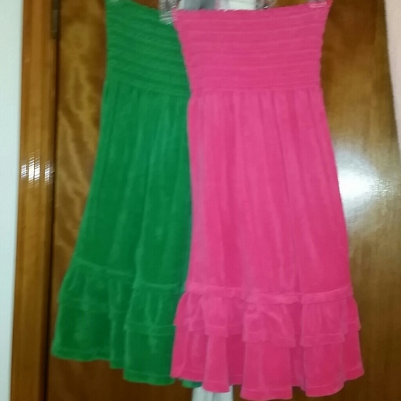 7647b4a49a Juicy couture tube top dresses