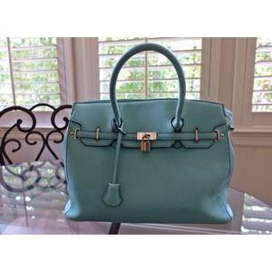 "Handbags - Mint BIRKIN Style ""Icon"" handbag!"