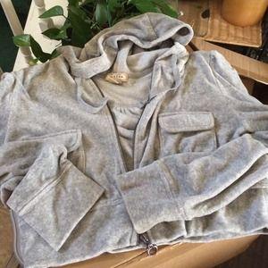 Arizona Other - Arizona Hooded Crop Zip Jacket! Kids Sz 14/16