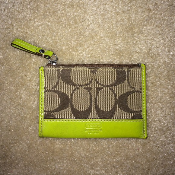 Coach Clutches & Wallets - Coach keychain wallet