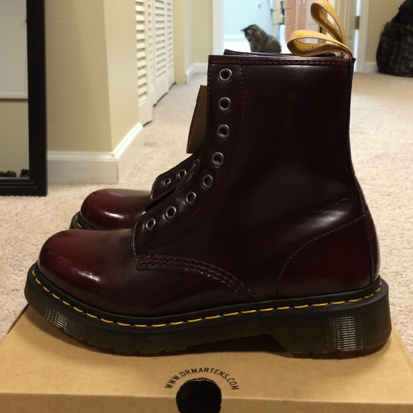 31 Off Dr Martens Boots Doc Martens Cherry Red Boots