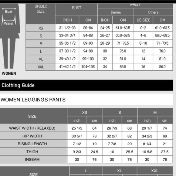 38% off UNIQLO Pants - BUNDLED