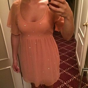 Dorothy Perkins dress with rhinestones