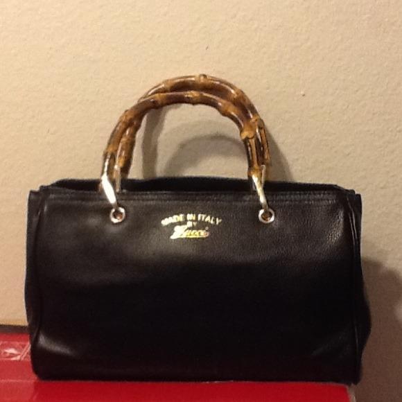 d979424fc9190 Gucci Handbags - Gucci Bamboo Large Shopper Tote Bag