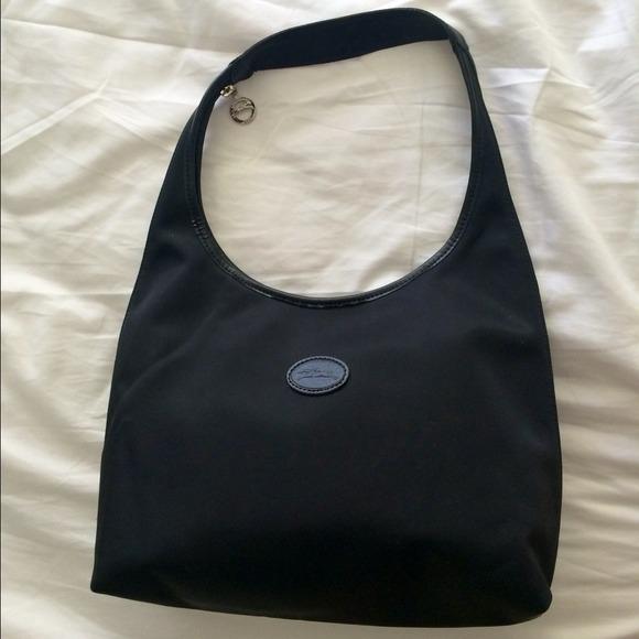4227f668c89a Longchamp Handbags - Longchamp black shoulder bag
