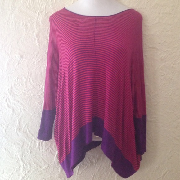 34% off Alison Sheri Sweaters - Pink and purple striped light ...