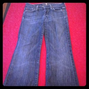 7 for all Mankind DOJO boot-cut jeans.