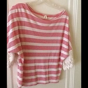Anthropologie-striped top