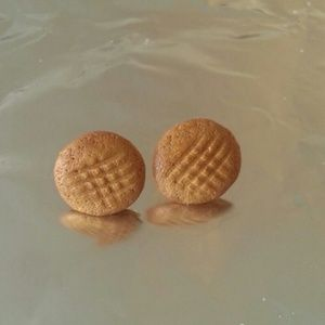 Peanut Butter Cookie Earrings