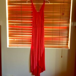 Xhilaration Dresses & Skirts - Bright coral maxi dress
