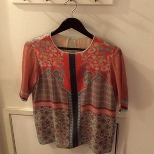 Clover Canyon sequin beaded top