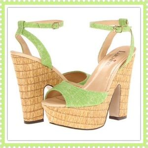 Luichiny Shoes - 🎉3xHOST PICK🎉💚Gorgeous Green Luichiny Wedges💚