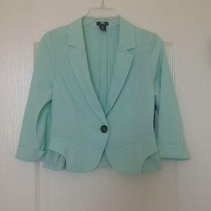 Stoosh Jackets & Blazers - NWT ruffle jacket - S