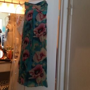 Fabulous floral maxi dress