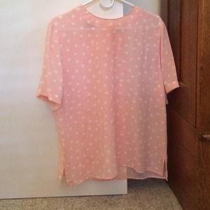Tops - BUNDLED!Vintage polka dot blouse